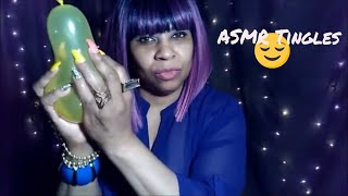INTENSE ASMR | Balloon Blowing Popping | Gum Chewing Sounds | WITH | 1K Yellow Diamond