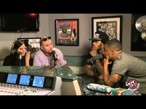 Waka Flocka introduces new artist Joey Fatts to Ebro in the Morning