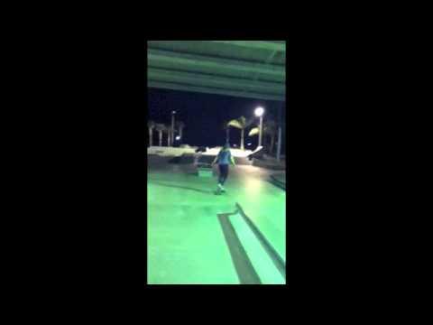 High heels, Jersey Girl, Skateboard, and Paradise like skatepark