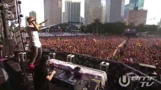 Skrillex Video - Jack U LIVE @ ULTRA MUSIC FESTIVAL 2014