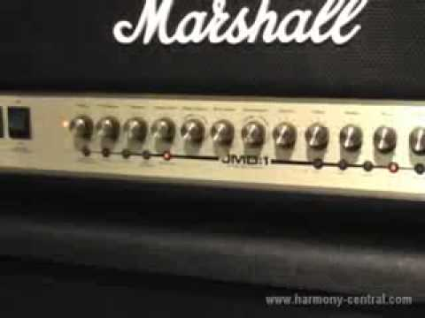 Marshall JMD:1 Modeling Guitar amp Video