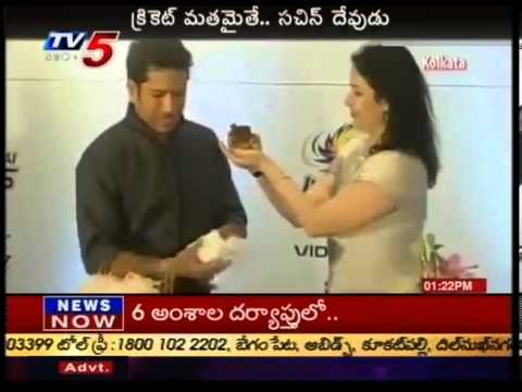 Sachin Tendulkar celebrates birthday with wife Anjali - TV5
