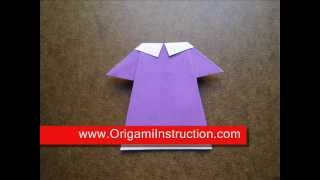 Origami Instructions Origami Baby Clothes