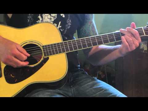 Staind  Its Been Awhile  Acoustic Guitar Lesson