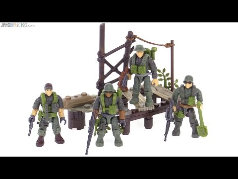 Mega Bloks Call of Duty Jungle Rangers review!