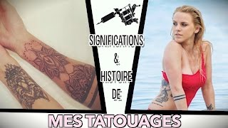MES TATOUAGES II SIGNIFICATIONS  - TATTOOLOGIE