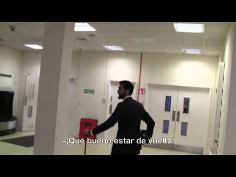 Real Madrid Behind The Scenes: Arbeloa Shows Us The Secret Of Anfield video