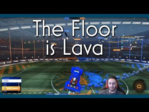 Rocket League | The Floor is Lava!