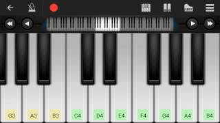 Surat Cinta Untuk Starla - Perfect Piano  Cover