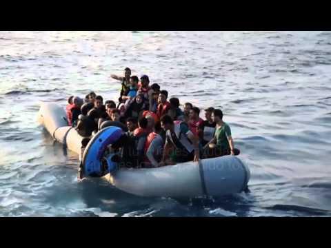 Otro trágico naufragio de inmigrantes dejó 7 nenes ahogados