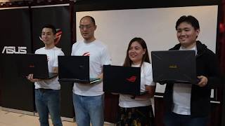 ASUS REDEFINES 2019 GAMING WITH THEIR NEW ROG AND TUF GAMING ASUS ROG LAPTOPS