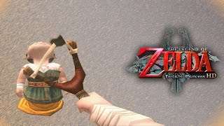 Did I Just Shoot A Baby? - Episode 5 - The Legend of Zelda Twilight Princess HD Gameplay