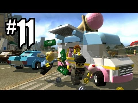 LEGO City Undercover Gameplay Walkthrough Part 11 - CRABBY COVE!! (Wii U HD)