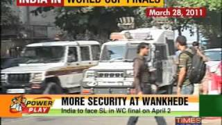 Security beefed up at Wankhede stadium