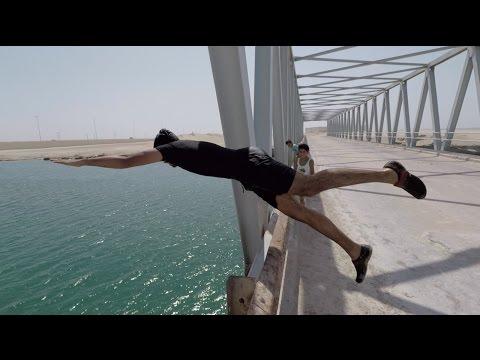 نطيت من فوق جسر مرتفع 10 متر   أكبر ملاهي مائيه !! فلوق#39