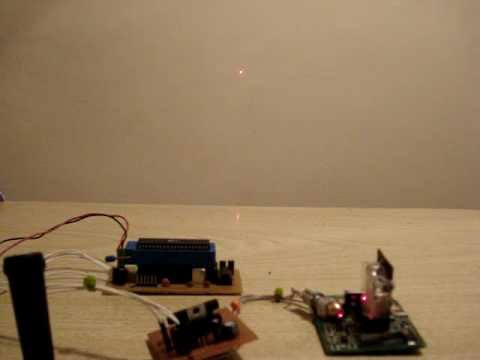 HOMEMADE LASER PROJECTOR (first steps)