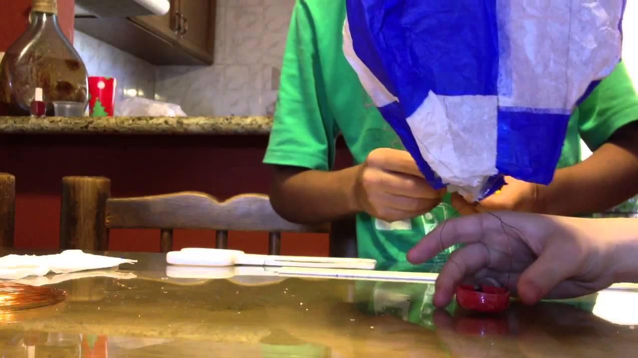 Como hacer un globo aerost tico casero youtube - Como hacer espaguetis al pesto ...
