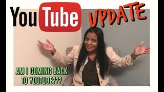 Toni and Youtube Update!!! 12/4/17
