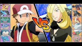 Red VS Cynthia - Battle of the Champions (Pokémon Ultra Sun / Moon)
