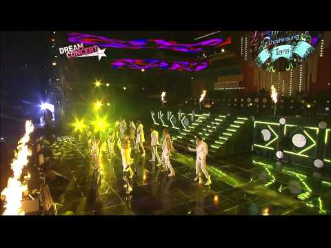 11.10.2009 [dream Concert] Supernova & T-ara: Time To Love 2 video