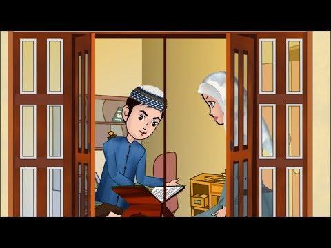 Abdul Bari learning Surah an Nas