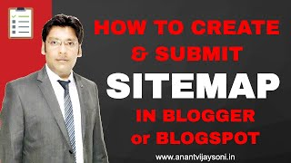 How To Create Sitemap For Blogger and Add Sitemap in Blogger [Hindi]