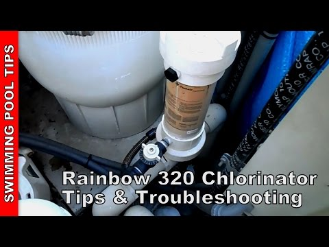 Pentair Rainbow 300 Chlorinator tips & troubleshooting