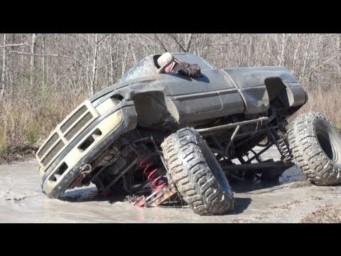 ALMOST ROLLS!! DODGE CUMMINS 4x4 on 54