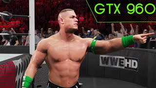 "WWE 2K15 PC ""GTX 960""  i7 4790 1080@60fps GAMEPLAY 