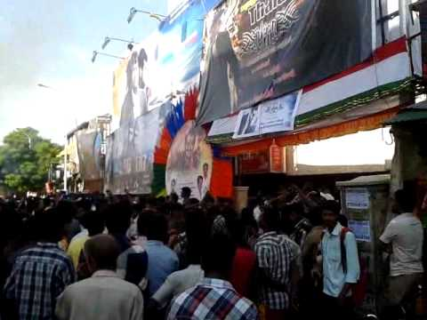 BILLA 2 FIRST DAY FIRST SHOW CELEBRATIONS @ KASI THEATRE- part 2