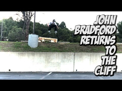 JOHN BRADFORD RETURNS TO THE CLIFF !!! - NKA VIDS -