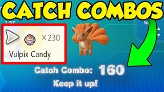 The BEST Catch Combo Guide In Pokemon Let's Go Pikachu and Eevee!
