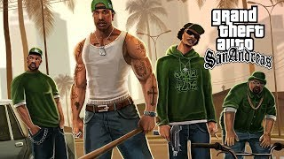 Ice Cube, Snoop Dogg, 2Pac - GTA San Andreas (NEW 2019 Gangster Music Video) [HD]