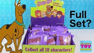 Scooby Doo Collectible Vinyl Keychains Blind Bag Toy Review | PSToyReviews