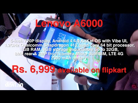 Lenovo A6000 - First Look