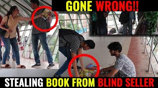 Stealing Book From A Blind Seller | Social Experiment In India