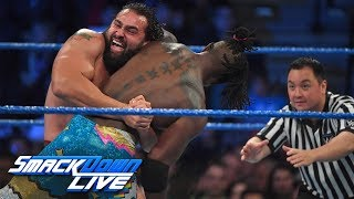 The New Day vs. Rusev & Aiden English: SmackDown LIVE, Dec. 5, 2017