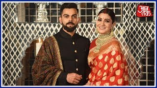 Exclusive Footage From Virat-Anuskha's Reception | Aaj Tak Live