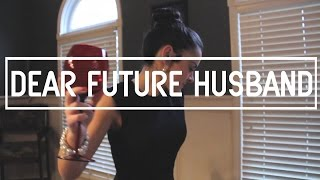Meghan Trainor - Dear Future Husband Lip Sync Music Video | jrcproductions