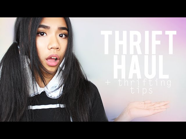 Thrift Haul // + Thrifting Tips for Beginners