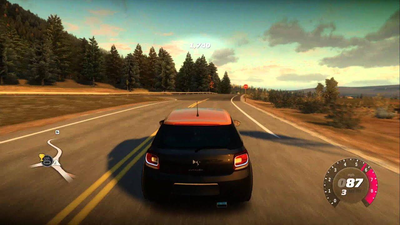 Forza Horizon 2011 Citroen Ds3 Racing Youtube