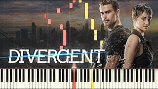 Piano Tutorial Divergent Soundtrack 34 Beating Heart 34 Synthesia Easy Piano Learning