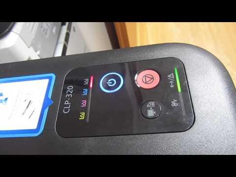 Принтер самсунг clp 320 прошивка