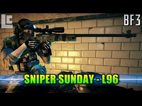 Sniper Sunday - L96 Pointless? (Battlefield 3 Gameplay/Commentary)