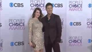 Jensen Ackles and Pregnant Danneel Ackles at 2013 People