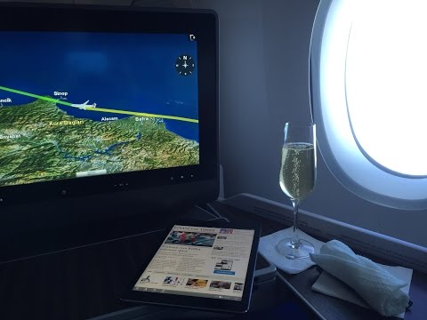 Qatar Airways A350 Business Class Doha to Frankfurt