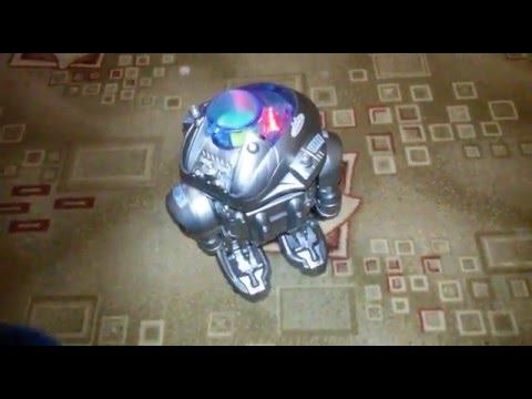 Робот Линк играем даем команды игрушке Robot Link  unboxing toy and play
