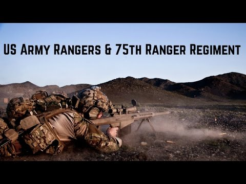 Us Army Rangers 75th Ranger Regiment