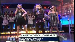 "Avery and The Calico Hearts on the Maury Show ""Maury's Mini Idols"" 2012"
