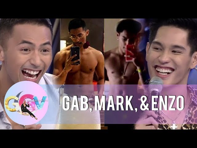 """Enzo and Gab confess that they take shirtless selfies to look """"yummy"""" 